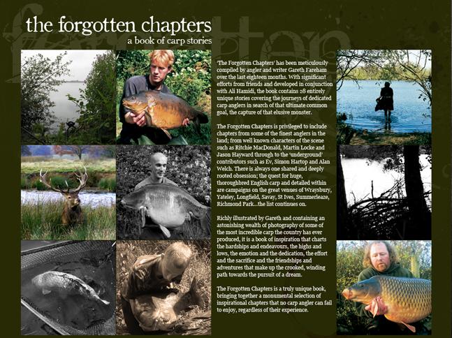 Gaz Fareham's angling book
